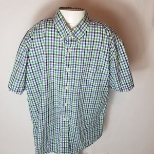 Tommy Hilfiger mens button down short sleeve